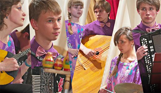 Детский ансамбль русских народных инструментов «Теремок» г. Орел